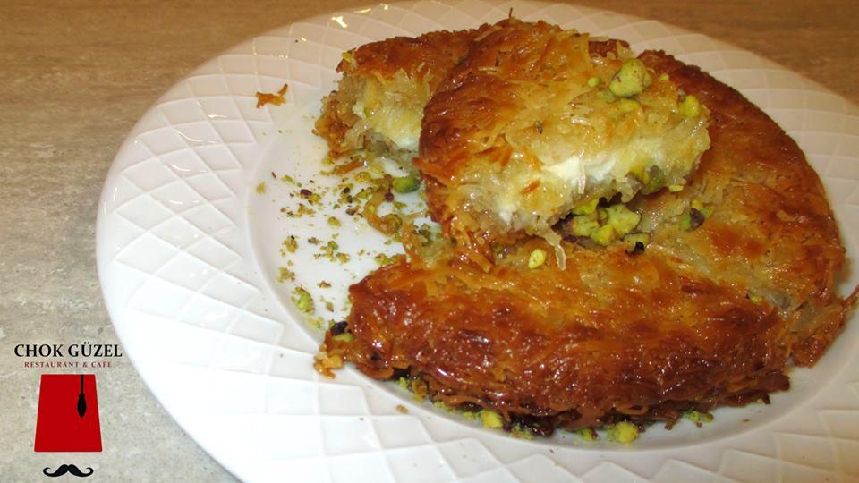 Kounefa restaurant turc Chok Guzel