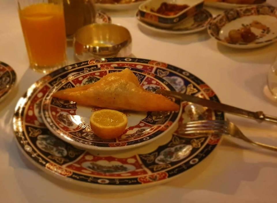 Dar el JEld restaurant Brik