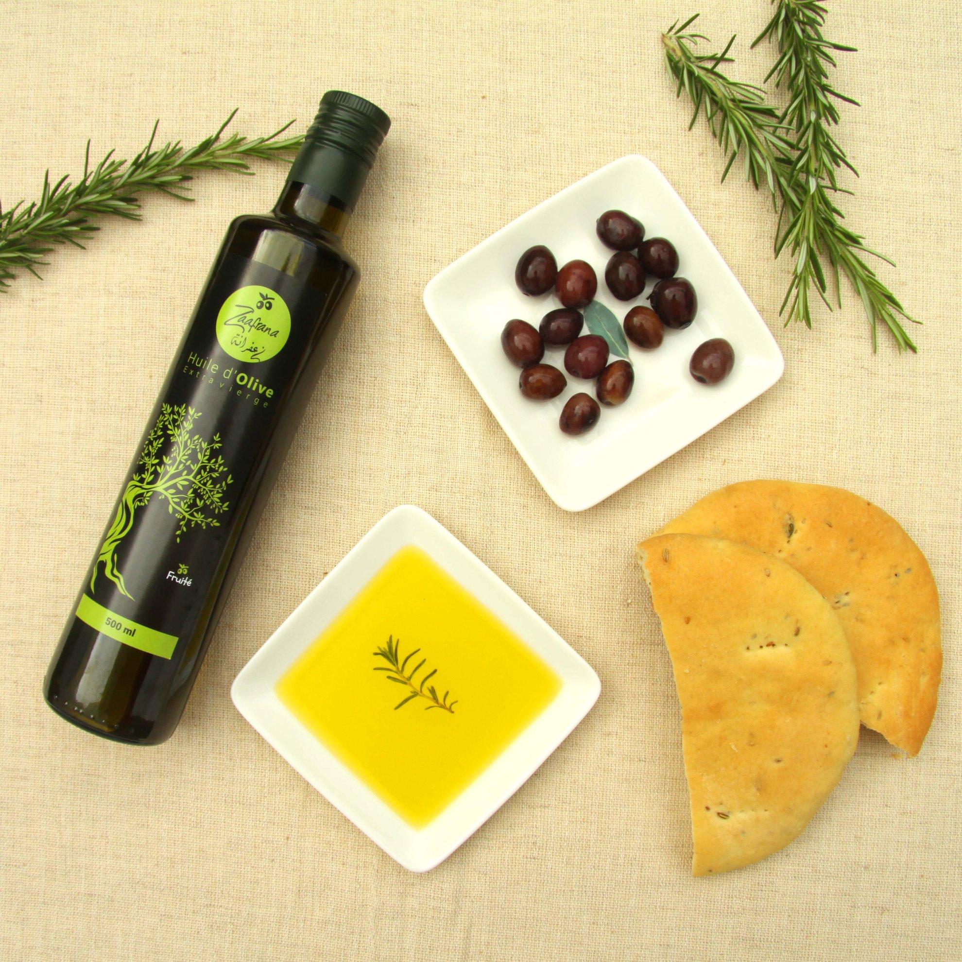 Zaafrana huile olive