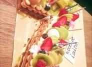 pâtisserie Magenta number cake gâteau