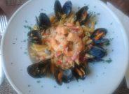 Moment italiani pâtes fruits de mer
